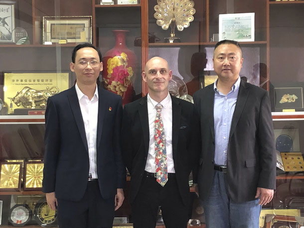Partenariat avec la Hunan university of Chinese Medecine