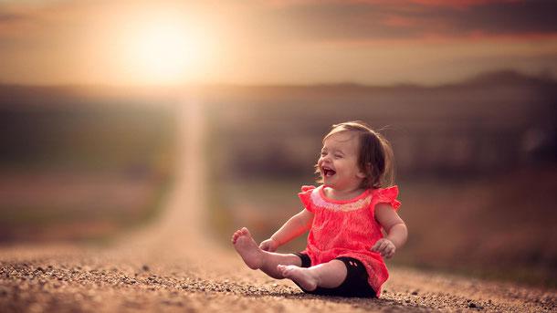 детский смех