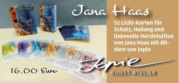 Jana Haas Engelkarten Gebetskarten #janahaascosmogetic Arkanaverlag