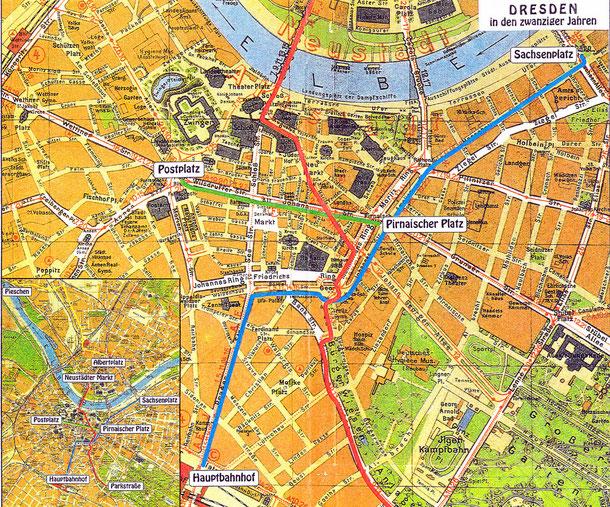 Das historische Dresden vor der Zerstörung Travel photography