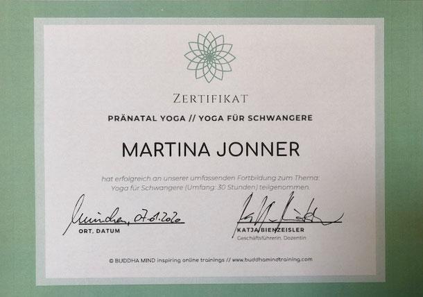 Zertifikat Pränatal Yoga, Krankenkassen Zertifiziert, ZPP zertifiziert