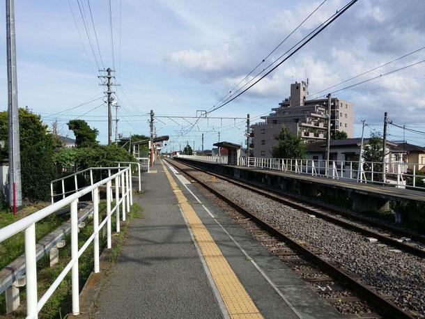 僕の地元の駅、御殿場線上大井駅☆