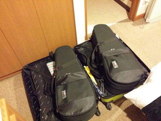 最終日のホテルもダブルの広い部屋でした♪快適☆さ!荷物片付けるぞ!