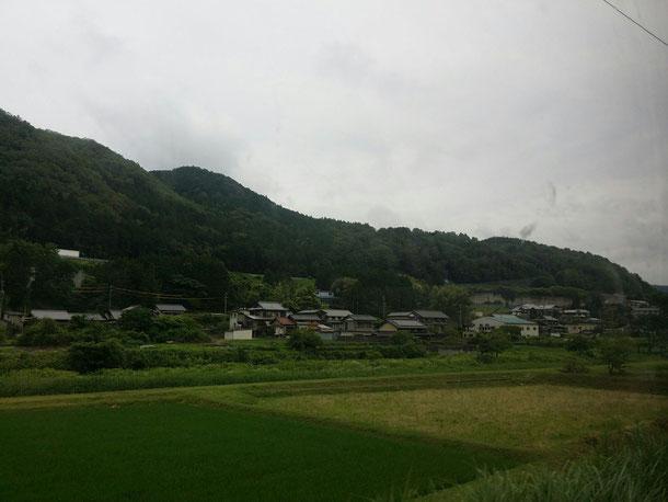 岐阜県中津川☆電車から見える景色は自然がいっぱいで大好き☆