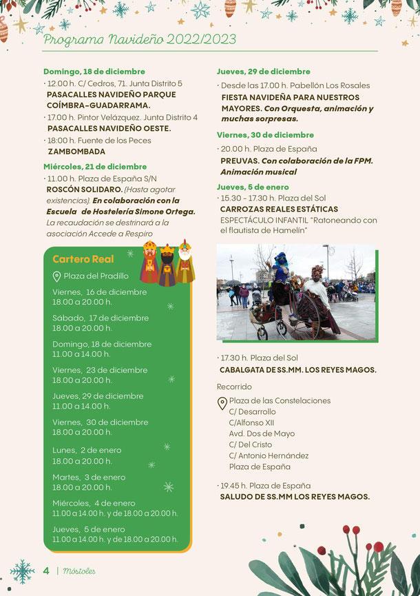 Navidad en Mostoles Programa