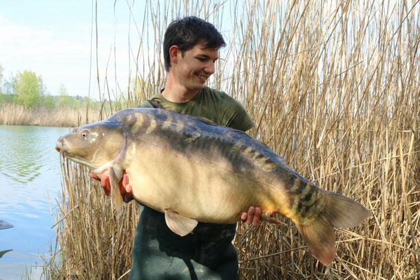 Was für ein krasser Fisch zum Einstieg