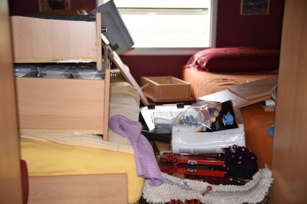 Chaos in der Hütte