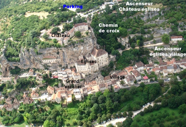 La cité mariale de Rocamadour