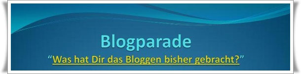 Blogging und Eure Bloggerarbeit