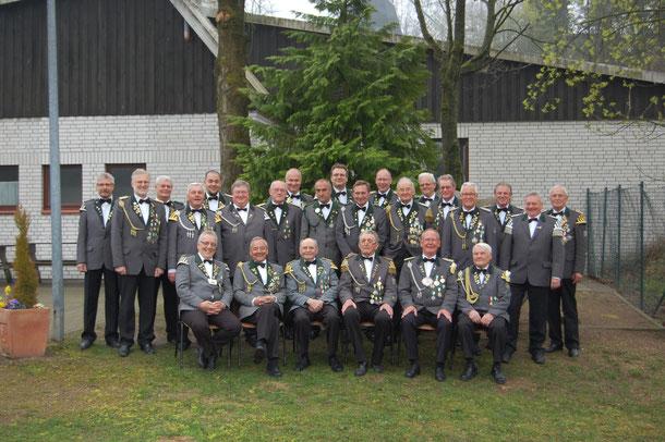 Schützen- und Vizekönige 2014