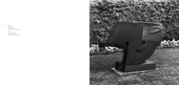 Jean-Pierre GHYSELS, sculpture  150 x 200 x 90 cm cuivre battu, 2000 collection particulière, grez-doiceau — quartet 59.1 x 78.7 x 35.4 inches hammered copper, 2000 private collection, grez-doiceau
