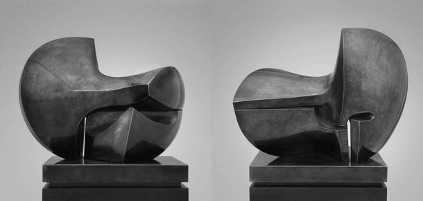 Jean-Pierre GHYSELS, sculpture largo 64 x 34 x 54 cm bronze poli et patiné, 1983, 3 ex. collection particulière, bruxelles (3/3) — largo 25.2 x 13.4 x 21.3 inches polished and patinated bronze, 1983, 3 ed. 3/3: private collection, brussels