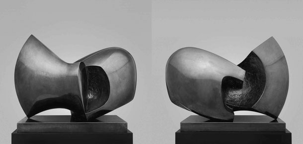 Jean-Pierre GHYSELS, sculpture viking 58 x 81 x 43 cm bronze poli et patiné, 1974, 3 ex. morgan guaranty trust, bruxelles (2/3) — viking 22.8 x 31.9 x 16.9 inches polished and patinated bronze, 1974, 3 ed. 2/3: morgan guaranty trust, brussels