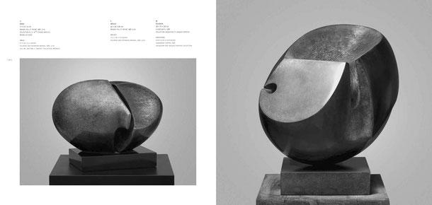 Jean-Pierre GHYSELS, sculpture sérac 17 x 23 x 13 cm bronze poli et patiné, 1981, 5 ex. collection m. et mme etienne watelet, bruxelles (3/5) — néguev 45 x 46 x 38 cm bronze poli et patiné, 1981, 3 ex.
