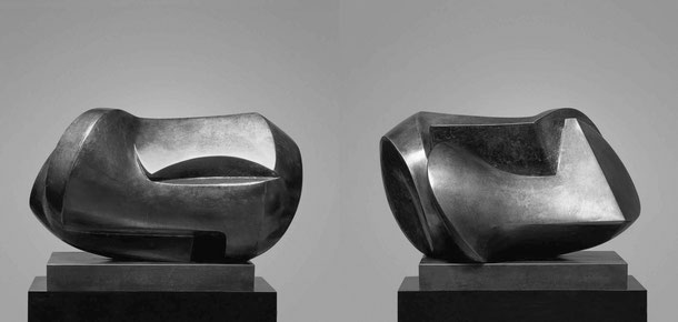 Jean-Pierre GHYSELS, sculpture percussions 40 x 59 x 40 cm bronze poli, brut et patiné, 1976, 3 ex. percussion 15.7 x 23.2 x 15.7 inches polished, unpolished and patinated bronze, 1976, 3 ed.