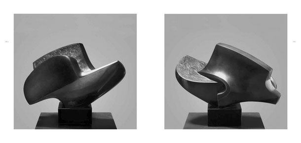 Jean-Pierre GHYSELS, sculpture mascareignes 23 x 32 x 15 cm bronze poli et patiné, 1976, 5 ex. — mascarene islands 9.1 x 12.6 x 5.9 inches polished and patinated bronze, 1976, 5 ed.
