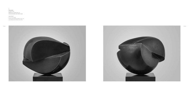 Jean-Pierre GHYSELS, sculpture one another 13 x 14,5 x 12 cm bronze poli et patiné, 1975, 5 ex. collection myriam joos-dopchie, (5/5) — one another 5.1 x 5.7 x 4.7 inches polished and patinated bronze, 1975, 5 ed. 5/5: myriam joos-dopchie collection