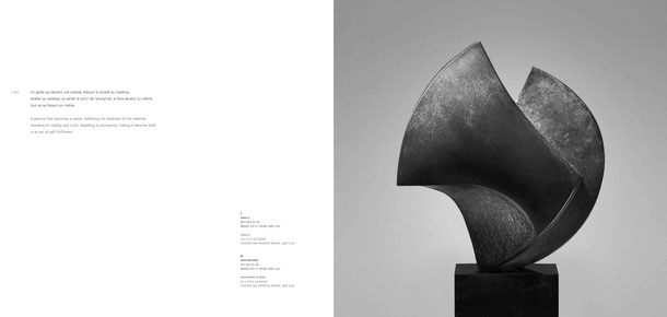 Jean-Pierre GHYSELS, sculpture oracle 38 x 29 x 25 cm bronze poli et patiné, 1976, 5 ex. — oracle 15 x 11.4 x 9.8 inches polished and patinated bronze, 1976, 5 ed.