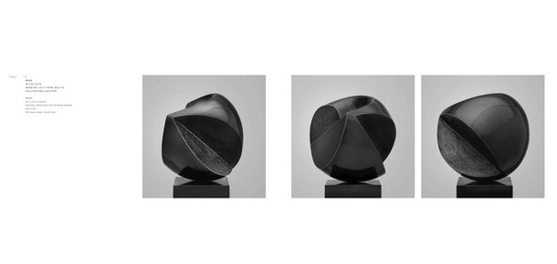 Jean-Pierre GHYSELS, sculpture hélios 40 x 33 x 33 cm bronze brut, poli et patiné, 1973, 6 ex. collection famille salik (6/6) — helios 15.7 x 13 x 13 inches polished, unpolished and patinated bronze, 1973, 6 ed. 6/6: salik family collection