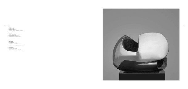 Jean-Pierre GHYSELS, sculpture enclave 19 x 22 x 14 cm bronze poli, 1973, 5 ex. collection particulière, bruxelles (3/5) — enclave 7.5 x 8.7 x 5.5 inches polished bronze, 1973, 5 ed. 3/5: private collection, brussels