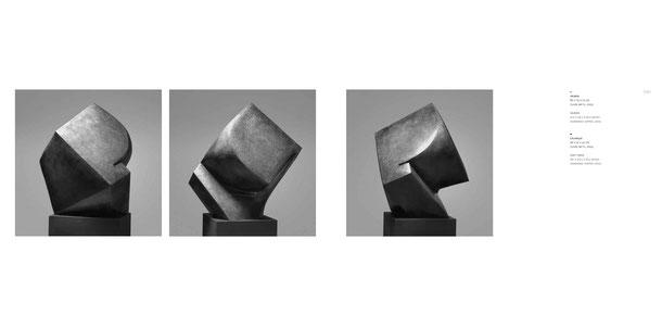 Jean-Pierre GHYSELS, sculpture vauban 80 x 75 x 75 cm cuivre battu, 2005 — vauban 31.5 x 29.5 x 29.5 inches hammered copper, 2005