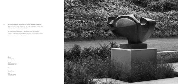Jean-Pierre GHYSELS, sculpture cévennes 103 x 175 x 75 cm cuivre battu, 2003 — cévennes 40.6 x 68.9 x 29.5 inches hammered copper, 2003