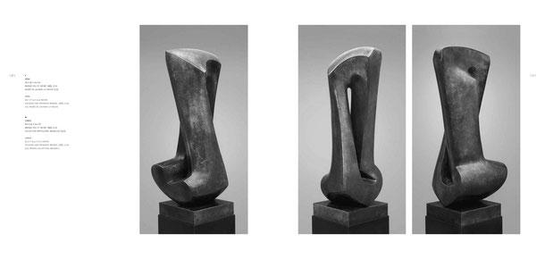 Jean-Pierre GHYSELS, sculpture héra 74 x 29 x 24 cm bronze poli et patiné, 1983, 3 ex. musée de louvain-la-neuve (1/3) — hera 29.1 x 11.4 x 9.4 inches polished and patinated bronze, 1983, 3 ed. 1/3: musée de louvain-la-neuve