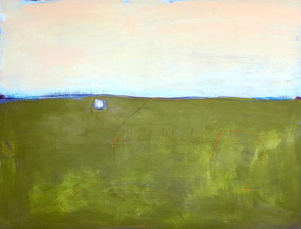 Bild grün - 120 x 100 cm