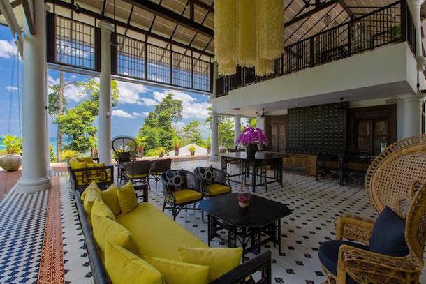 Retro chic in Moracea hotel in Khao Lak