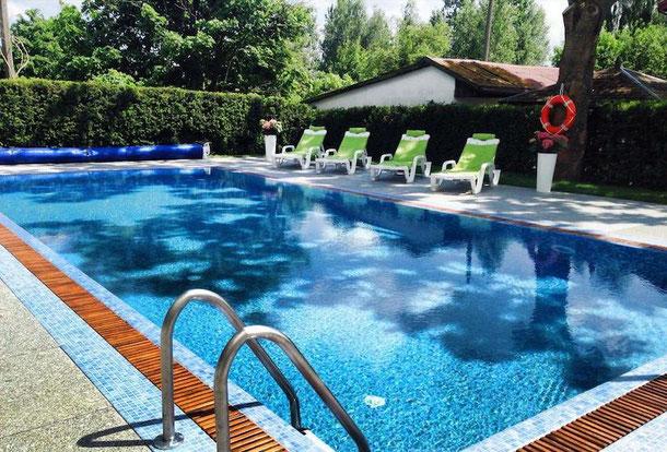 Отель с бассейном с подогревом - Польша - Балтийский берег