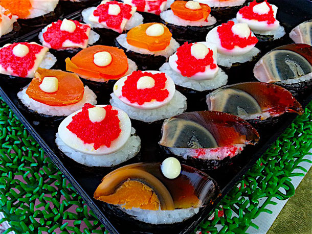Thai-style sushi
