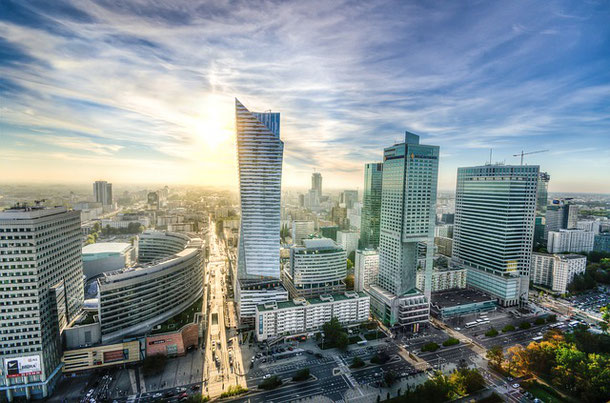 Warsaw Panorama: the list of the best viewpoints in the city