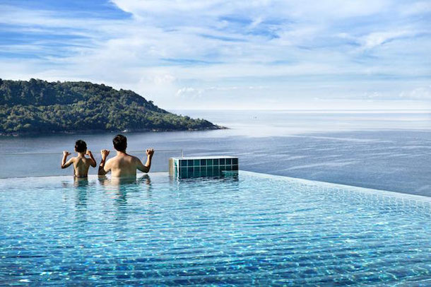 Панорамный бассейн на Пхукете - Nook Dee Boutique Resort