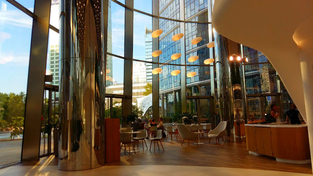 Warsaw Spire Daft Cafe, - good cafe to work from