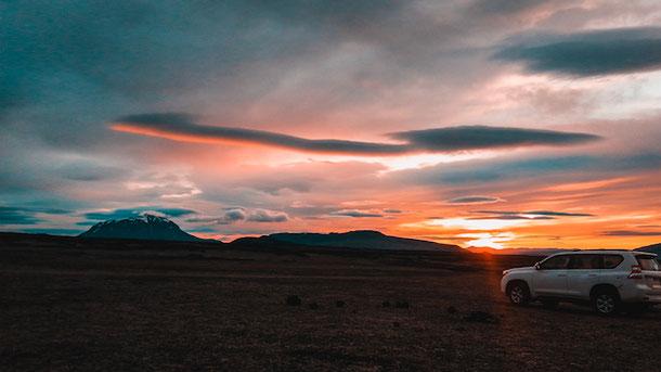 Необыкновенные пейзажи в Исландии
