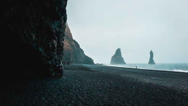 Место силы Вик в Исландии