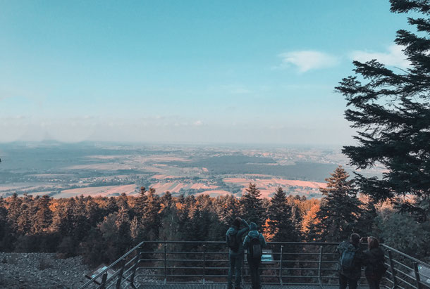 Панорама с Лысой горы в Польше