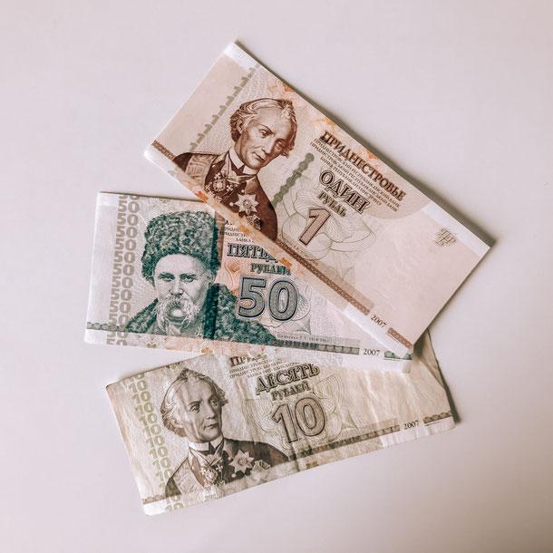 Pridnestrovie / Transnistria money