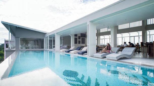 Panphuree Residence, Phuket, hotel with infinity pool