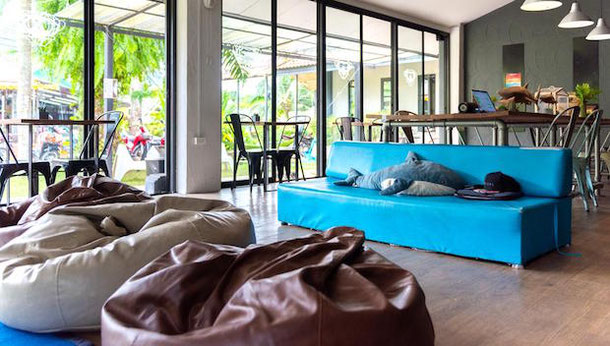 Modern Hostel in Khao Lak