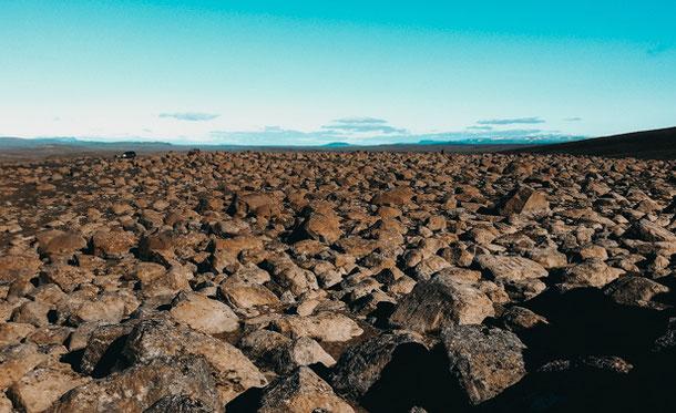 Путешествие по марсианским полям Исландии