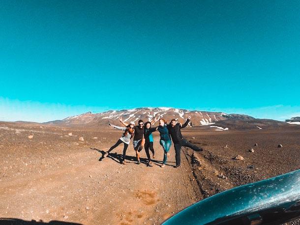Путешествие на машине по Исландии