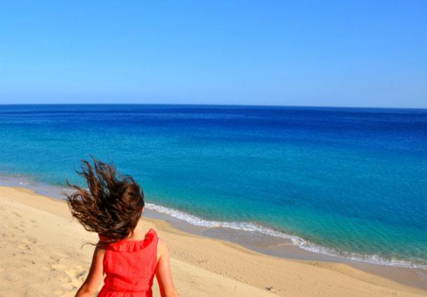 пляж Морро Хабле на Фуэртевентуре