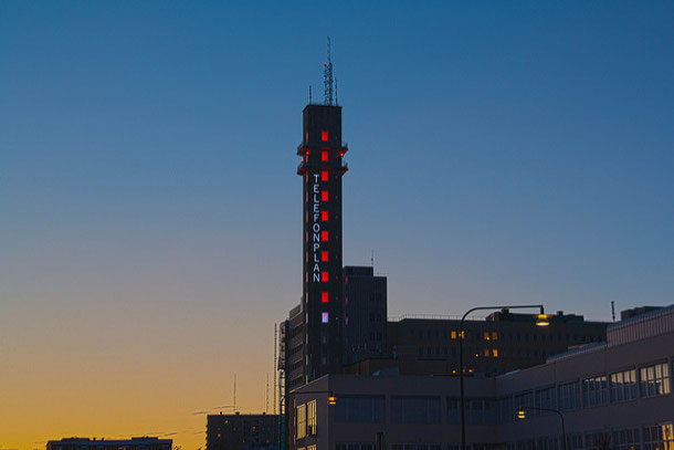 Command Stockholm Light tower by your smartphone