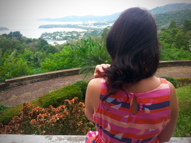 Thinking about eternal at the Karon Viewpoint