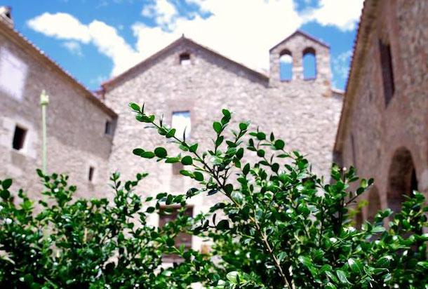Unusual hotel near Barcelona - Monestir De Sant Salvi: Monastery converted into a hotel