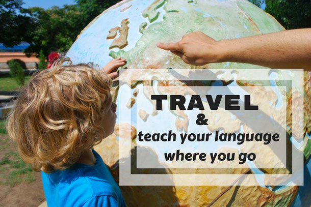 Alternative traveling with teaching languages abroad