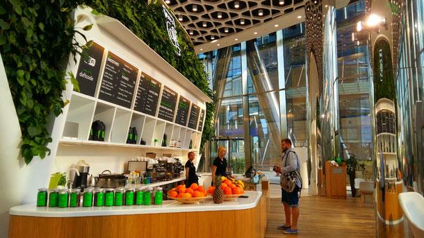 Warsaw Spire Daft Cafe