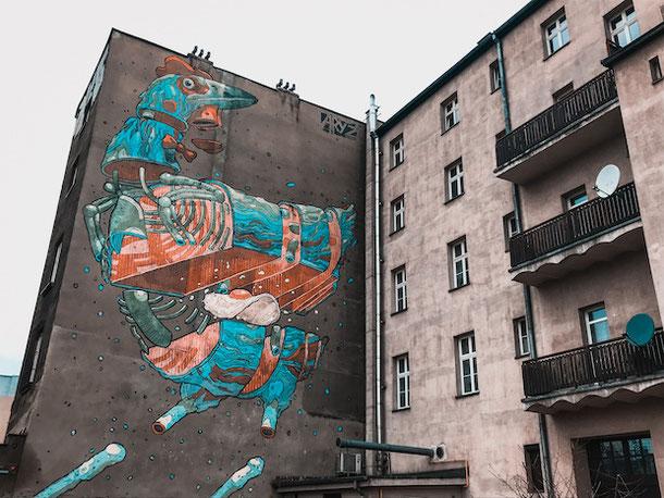 Стрит-арт в Катовице