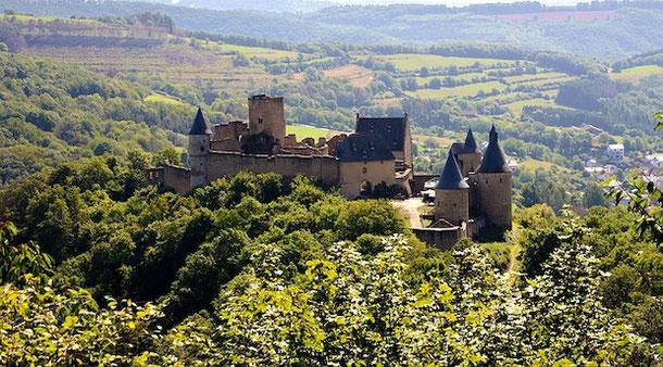 Тур по замкам Люксембурга